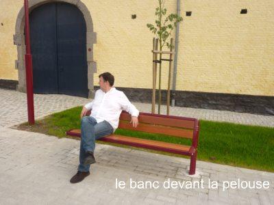 «Les incongruités de l'aménagement de la place de Floreffe à Hingeon»
