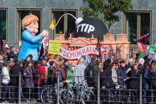 Ecolo se mobilise contre 'le very bad TTIP »