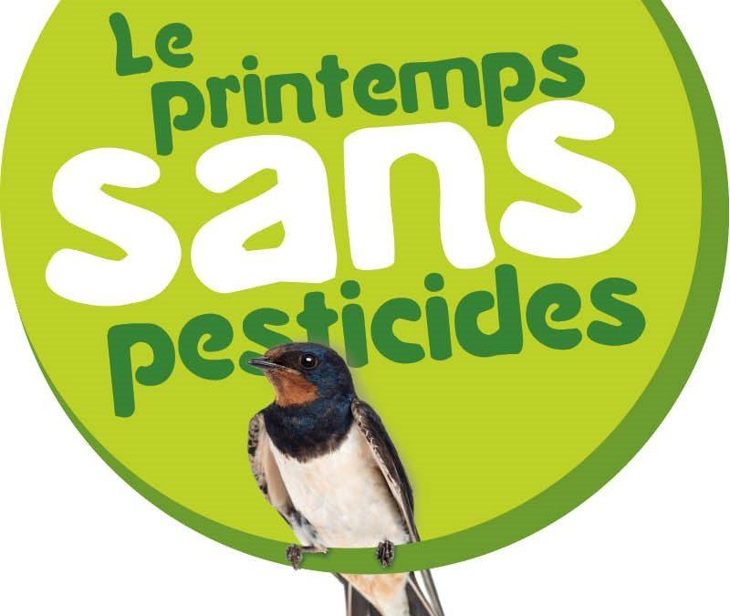 Printemps sans pesticides du 20 mars au 20 juin 2016